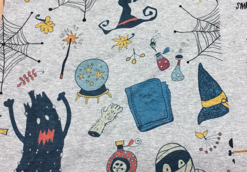 Fabric Monsters on Heather