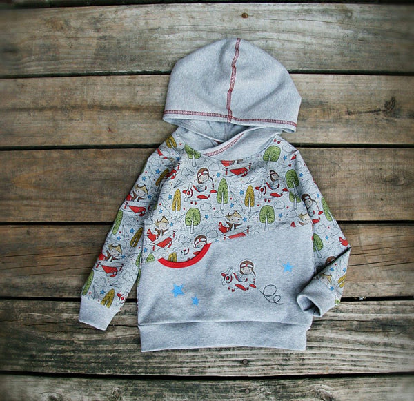 International - Fabric Natalia Let Your Dreams Take Flight - Boy on HEATHER