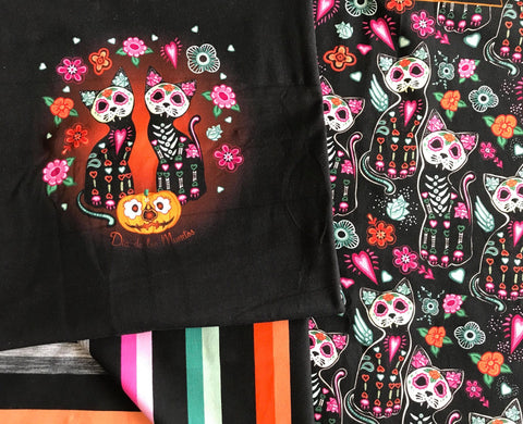 May/June CPG's 2020 Preorder - Rapport Skeleton Cat Dia De Los Muertos