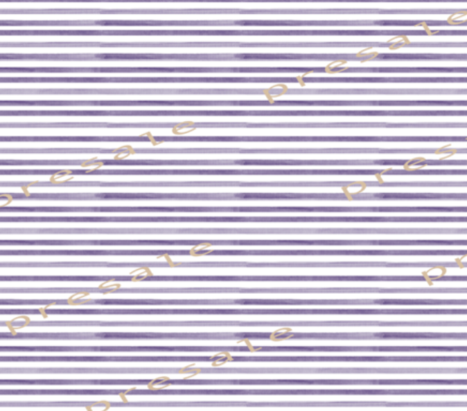 Watercolour Stripes Purple