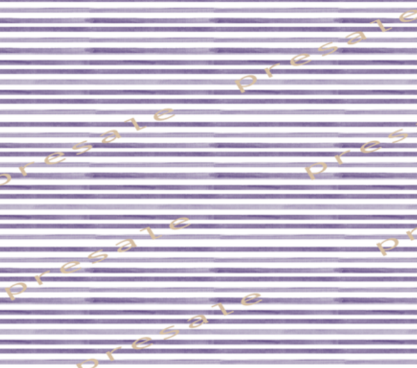 International Watercolour Stripes Purple