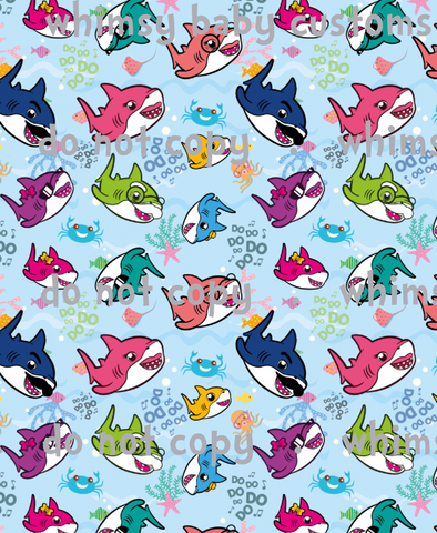 International - Fabric Shark Family Main