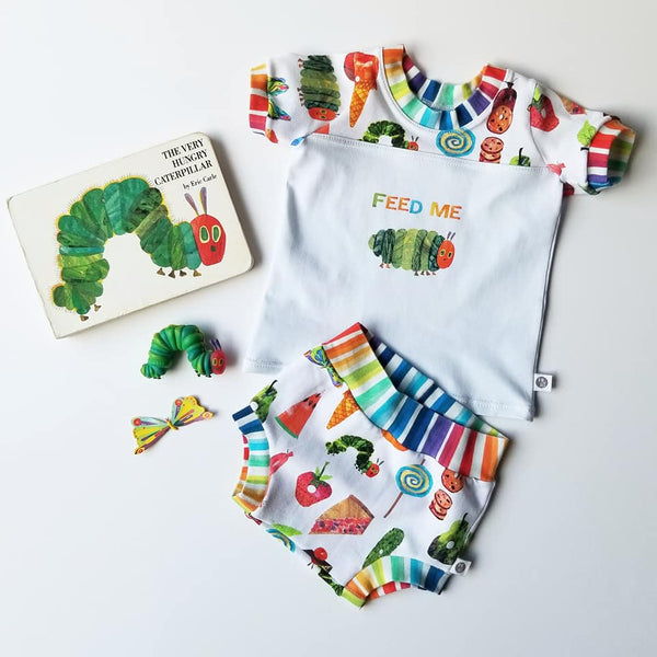 Fabric Feed Me Hungry Caterpillar
