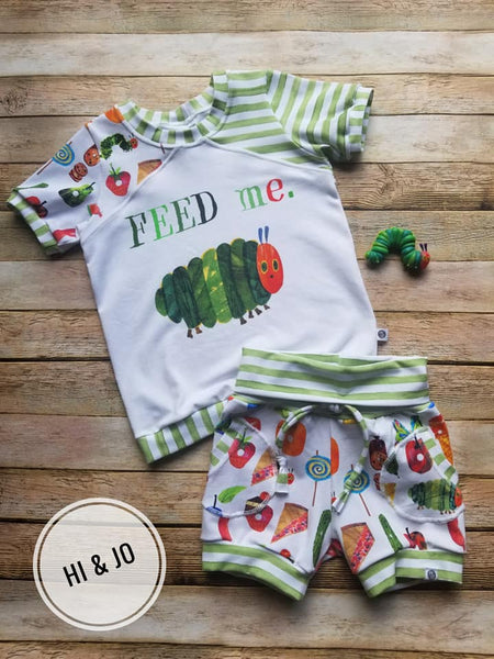 International Fabric Feed Me Hungry Caterpillar