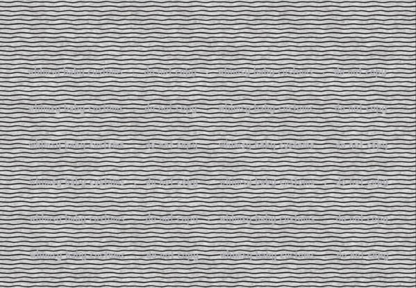 Fabric Thick Black Wonky Stripes on Heather Grey