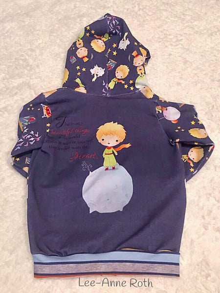 International - Fabric The Little Prince Main ENGLISH ON FRENCH TERRY
