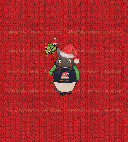 International - Child Panel Totoro Ugly Christmas Sweater
