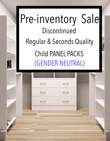 PRE INVENTORY SALE - Surprise Child Panel Pack GENDER NEUTRAL