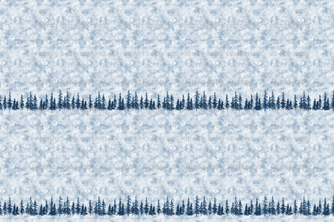 Fabric Cold Sisters Winter Border Print ON VARIOUS BASES