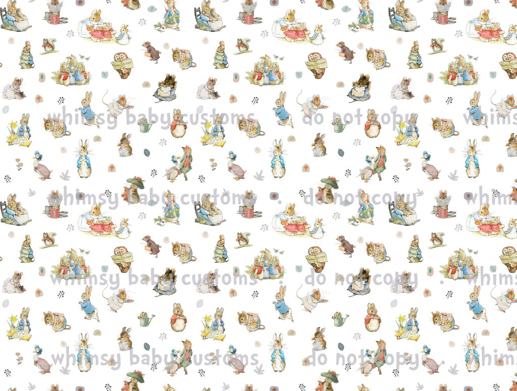 Fabric Peter Rabbit Main