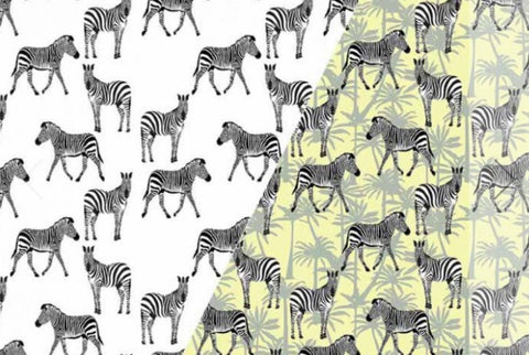 Color Changing Preorder Jan 2020 - Zebras Color Change Fabric