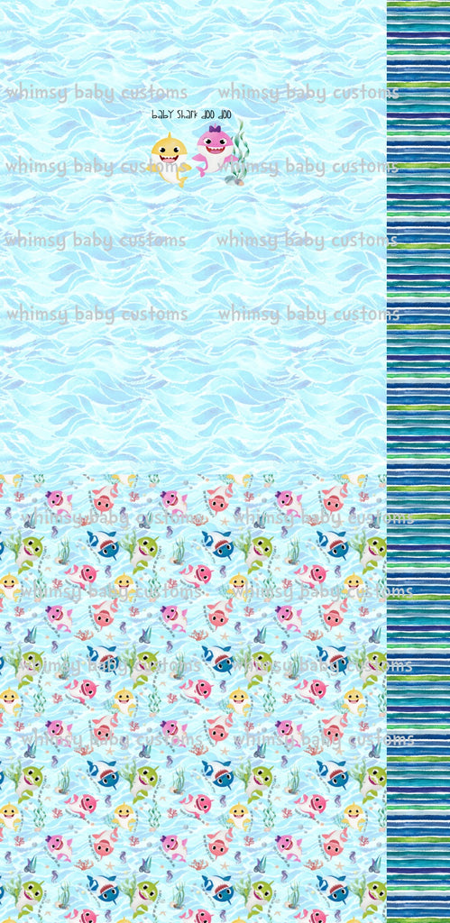 International - Child Underwear Panel Baby Shark Doo Doo Doo