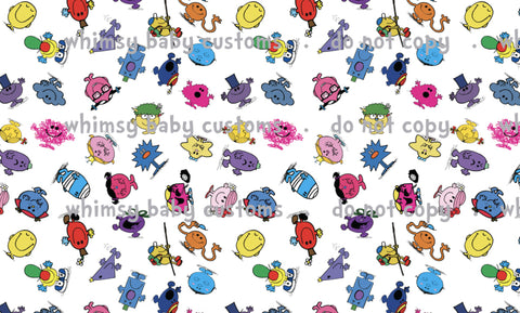 May/June CPG's 2020 Preorder - Fabric Little Mr and Miss People