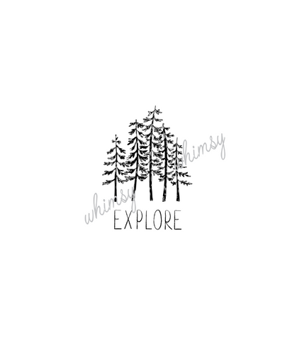 302 Adventure/Outdoor-Explore-Trees Panel