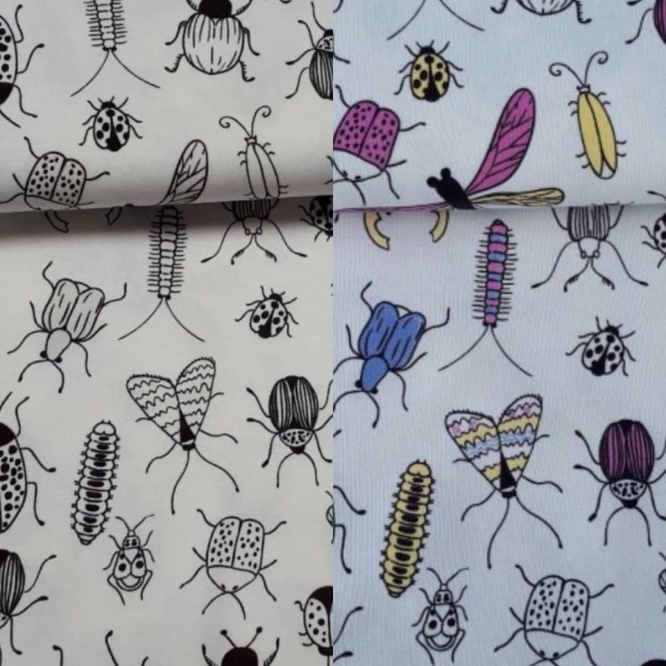 Colour Changing Fabric - Bugs