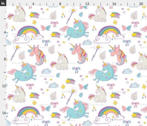 Coordinates: Unicorn Fabric