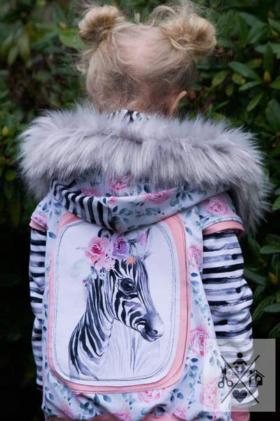 Rapport Floral Baby Zebra