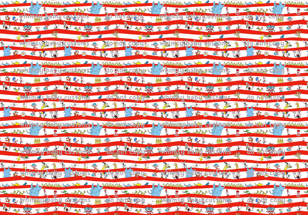 New arrivals: Seuss Cat in the Hat Fabric