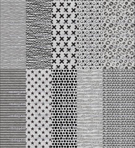 International - Fabric Coordinating prints on HEATHER grey (Various Choices)