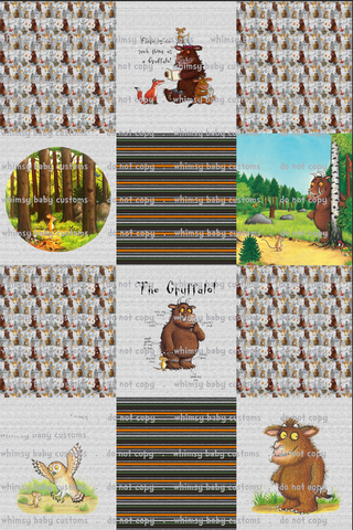 Fluff 2020 Preorder- Lazy Quilt The Gruffalo