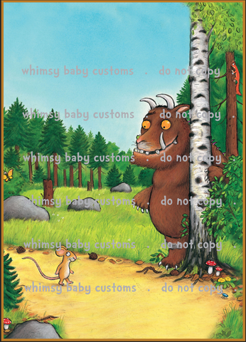 International - Adult/Romper Gruffalo Full Panel ON CL