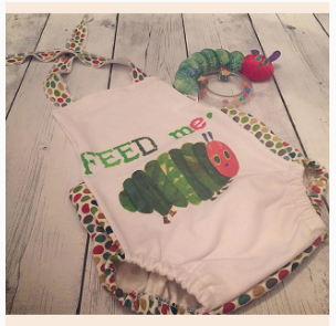 790 Feed Me Hungry Caterpillar Child Panel