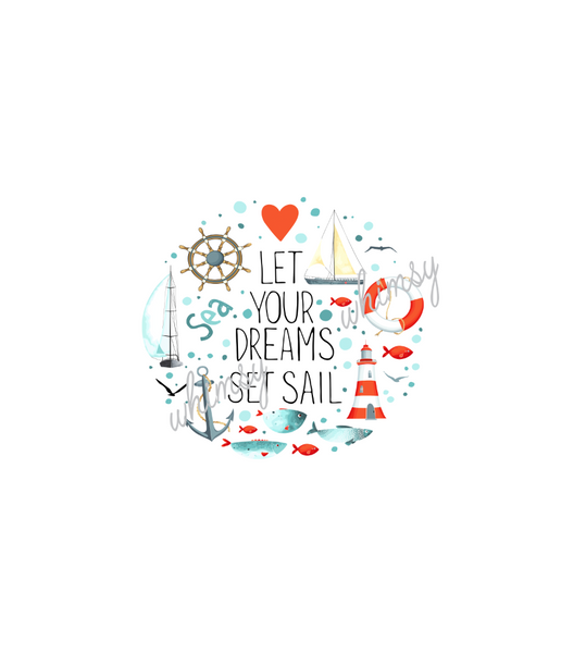 456 Let Your Dreams Set Sail Child Panel