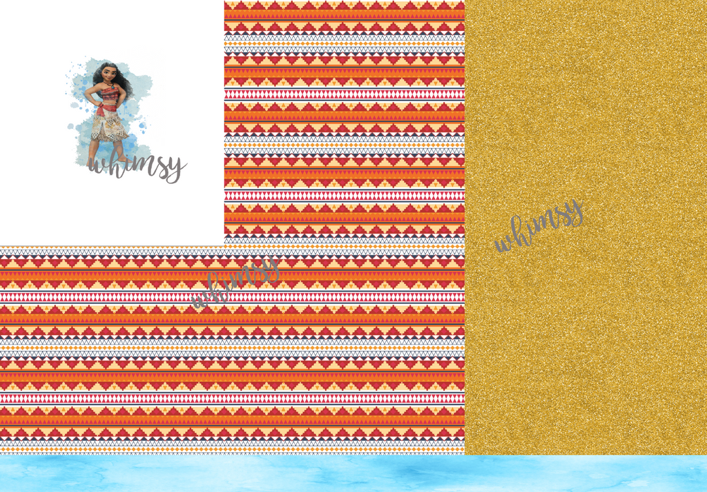 R035 Moana Rapport 1 (Orange Aztec)