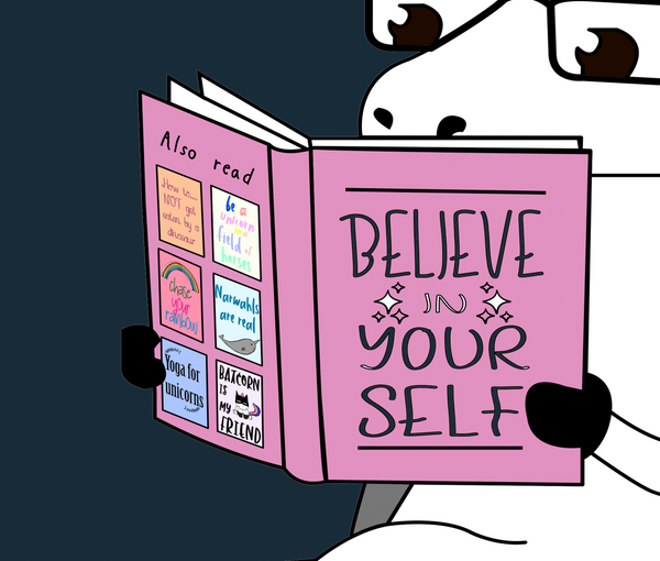 A1026 Believe In Yourself Unicorn Adult/Romper Panel