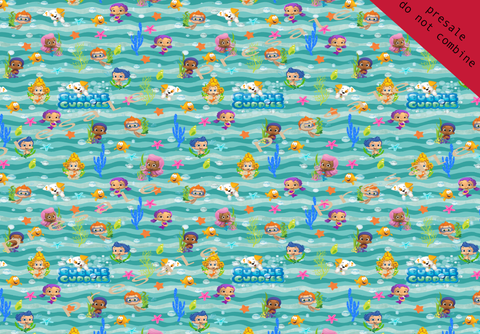 Bubble Guppies Fabric