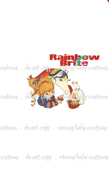 555 Rainbow Brite, Starlight and Twink Child Panel