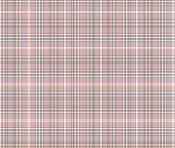 New Arrivals: Pink and White Tartan Plaid