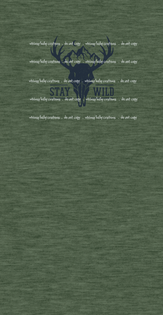 317S Child Panel SET Stay Wild (with Back)