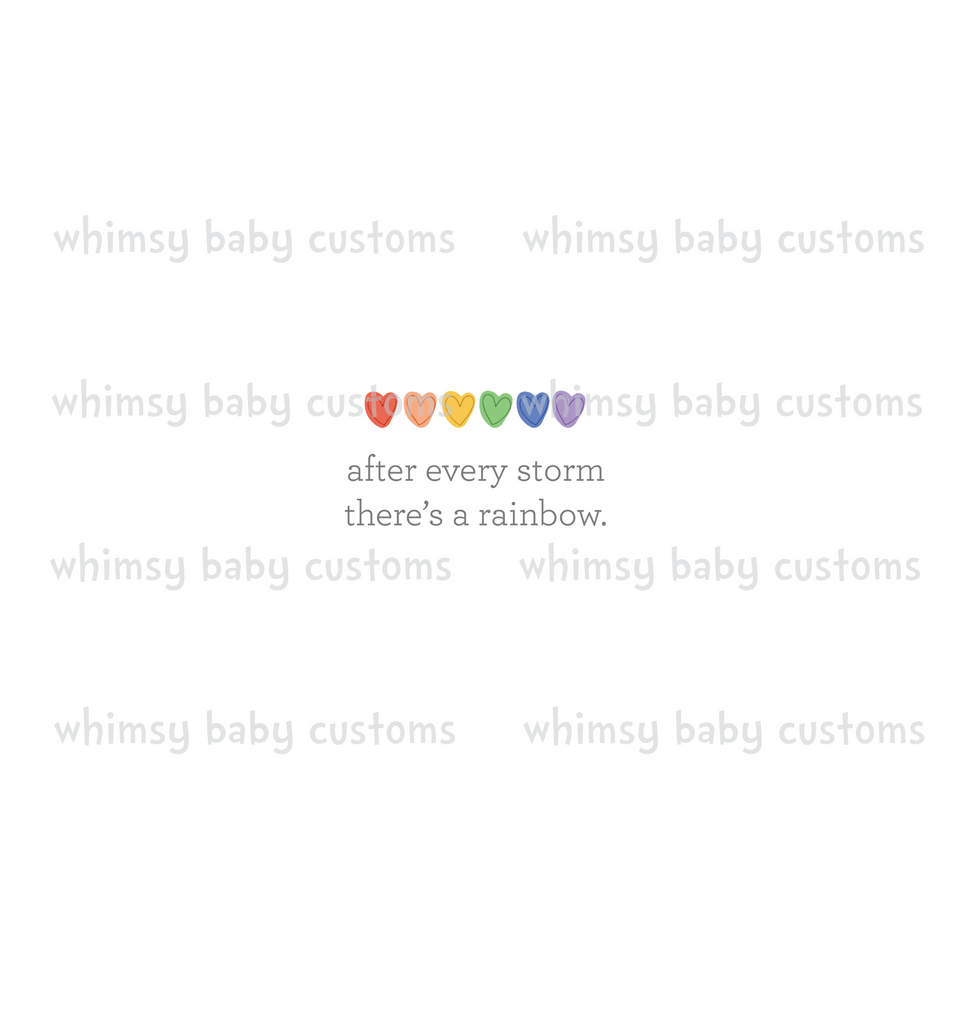 556 Rainbow Baby - After Every Storm There's a Rainbow Child Panel