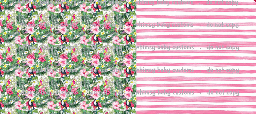 Feeling Tropical Swim Fabric