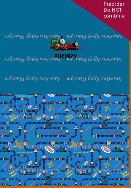 Thomas and Friends Children's Underwear Panel - Tuesday