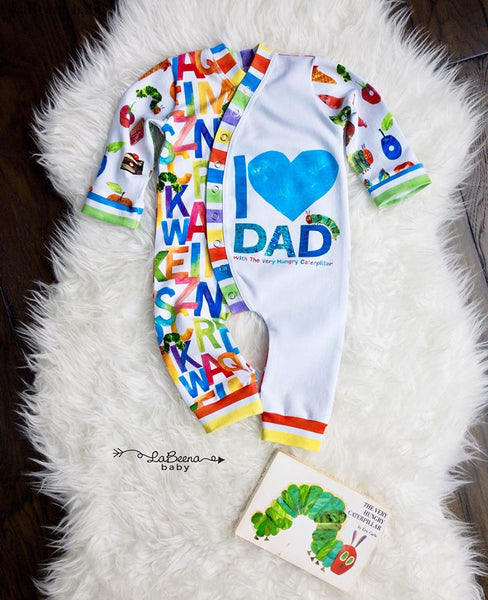 Hungry Caterpillar I Love Dad Child Panel