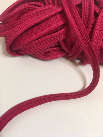 D014 Fuschia Pink Piping and Spiral Piping