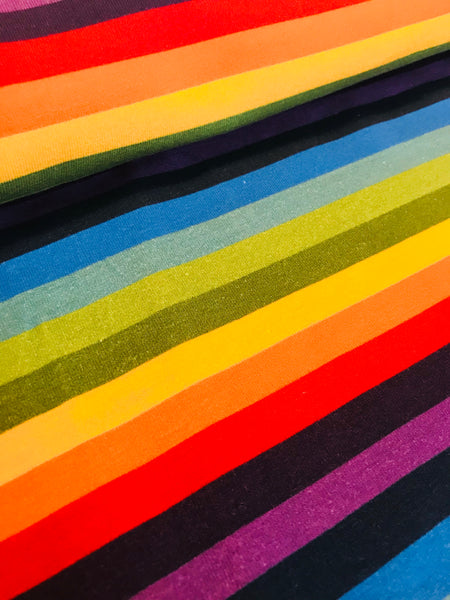 International Fabric Rainbow stripes