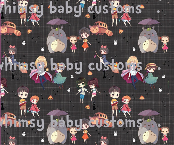 Whimsy Fluff Ghibli Lazy Quilt 2M Slight Seconds