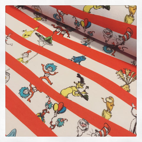 International Seuss Cat in the Hat Fabric