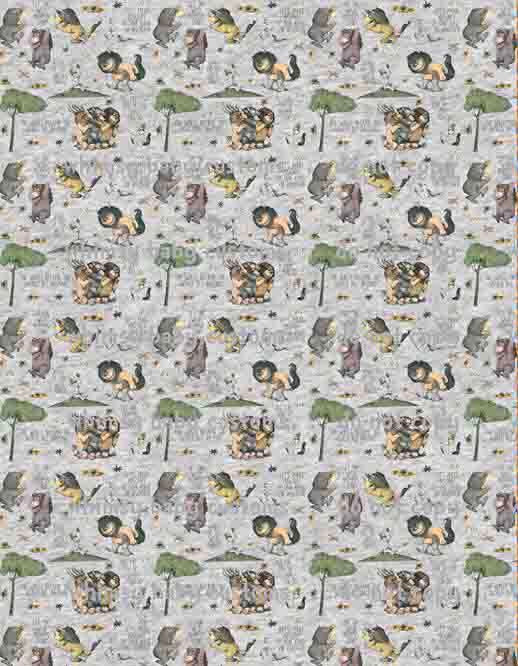 International - Fabric Wild Things main on HEATHER