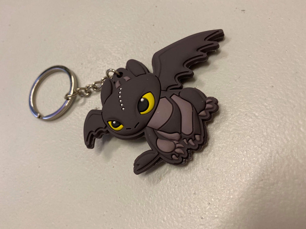 Toothless Key Chain