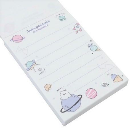 Cosmoworld Memo Pad - Sutoru - Memo Notes - qla