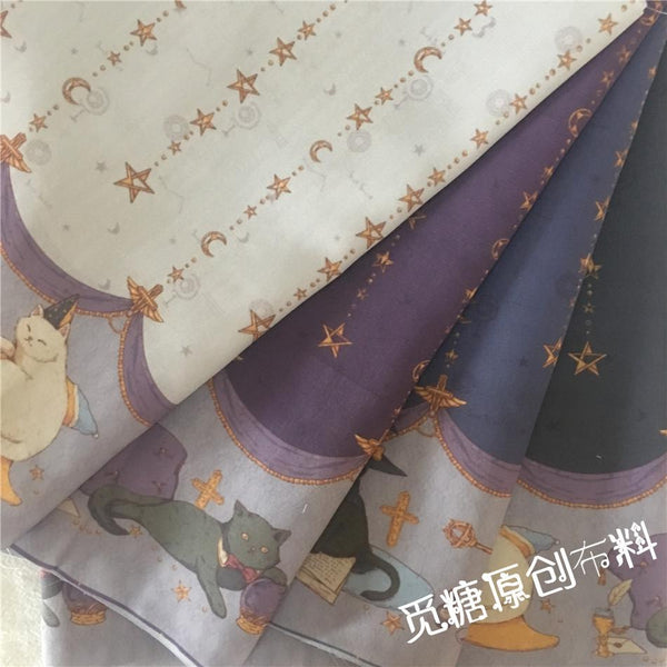 Magical Cats - Sutoru - Fabrics - Seek Sweet