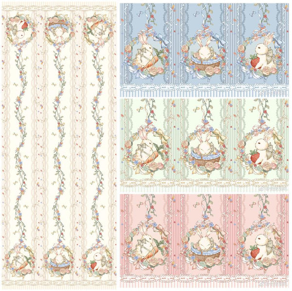 Rabbit in the Garden - Sutoru - Fabrics - Seek Sweet