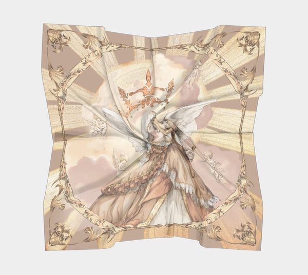[Ready to ship] Silk Square Scarf - Sacrifice - Sutoru - Square Scarf - Sutoru