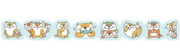 Washi Sticker Roll - Welcome, Otter - Sutoru - Sticker - PetaRoll