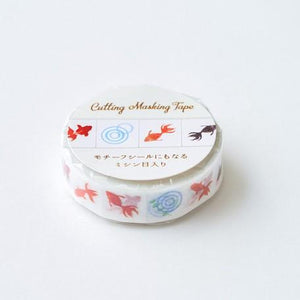 Washi Tape - Goldfish - Sutoru - Washi Tape - Pine Book