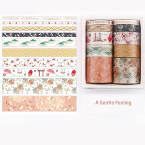 Washi Tape set — A Gentle Feeling - Sutoru - Washi Tape - Mr. Paper